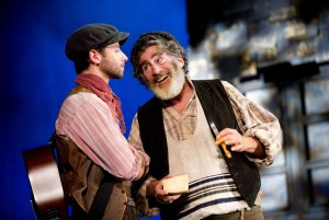 FOTR - Steven Bor (Perchik), Paul Michael Glaser (Tevye) - Credit Tristram Kenton (ref630)