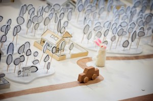 Wanted Rabbit visits the egg theatre- theatre bath