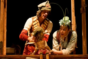 Pinocchio - Hiccup Theatre visits the egg theatre - (ref125)