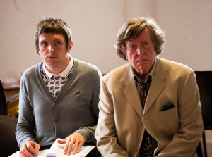 The Hypochondriac - Craig Gazey and David Collings in rehearsal - Photo credit Simon Annand - (ref70)