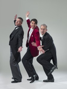 J and W in PN - J Gordon Sinclair (Jeeves), J Lance (Bertie Wooster), R Goodale (Seppings) - Credit Uli Weber