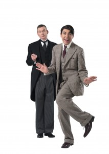 J and W in PN - John Gordon Sinclair (Jeeves), James Lance (Bertie Wooster) - Credit Uli Weber (3)