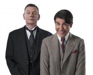 J and W in PN - John Gordon Sinclair (Jeeves), James Lance (Bertie Wooster) - Credit Uli Weber (4)