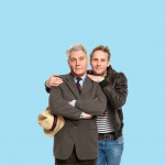 James Fox (plays Roger Mortimer) and Jack Fox (plays Charlie Mortimer) in Dear Lupin -- Photo credit Simon Turtle- Theatre Royal Bath- Theatre Bath