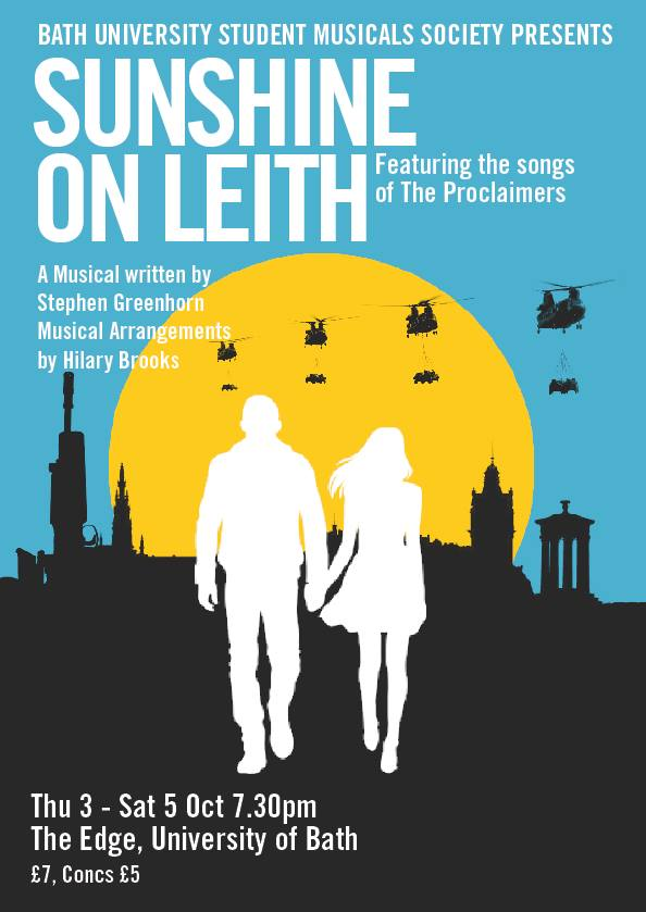 Sunshine on Leith- University of Bath- Theatre Bath
