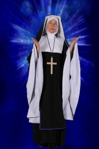 Sister Act - Jacquie Buck as Mother Superior - Bath Light Operatic Group - Theatre Royal Bath