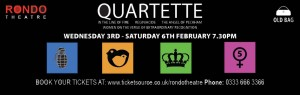 Old Bag Theatre Company - Quartette - Rondo Theatre - Theatre Bath