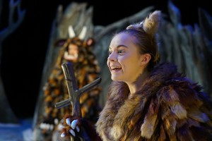 The Gruffalo's Child - Sophie Alice as The Gruffalo's Child - Theatre Royal Bath - Theatre Bath