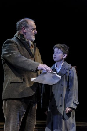David Troughton (Tom Oakley) and Alex Taylor-McDowall (William) in Goodnight Mister Tom - Theatre Royal Bath - Theatre Bath