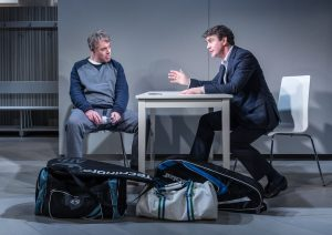 The Truth - Robert Portal as Paul and Alexander Hanson as Michel - Theatre Royal Bath - Theatre Bath