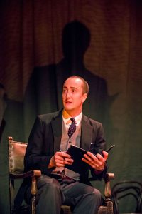Matthew Spencer as The Actor - The Woman In Black - Theatre Royal Bath - Theatre Bath